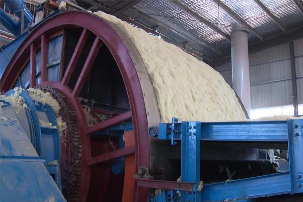 鼓式集棉机